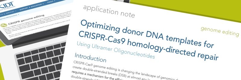 CRISPR HDR Optimization App Note